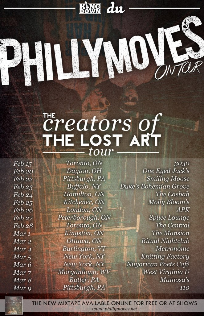 The Creators of the Lost Art Tour 2013