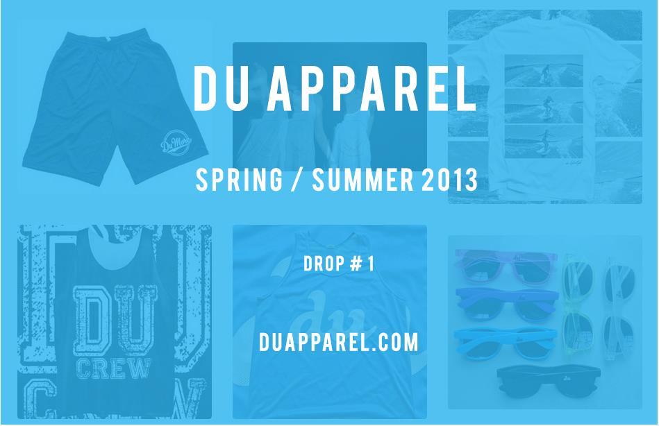 DU Apparel First drop