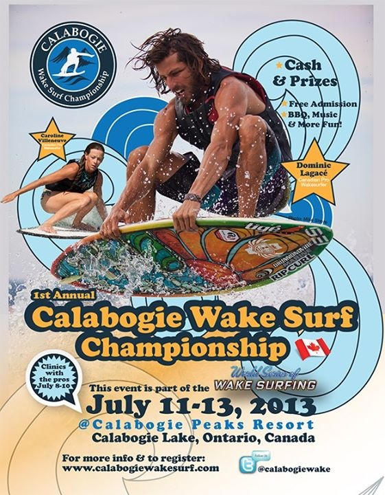 Calabogie Wake Surf
