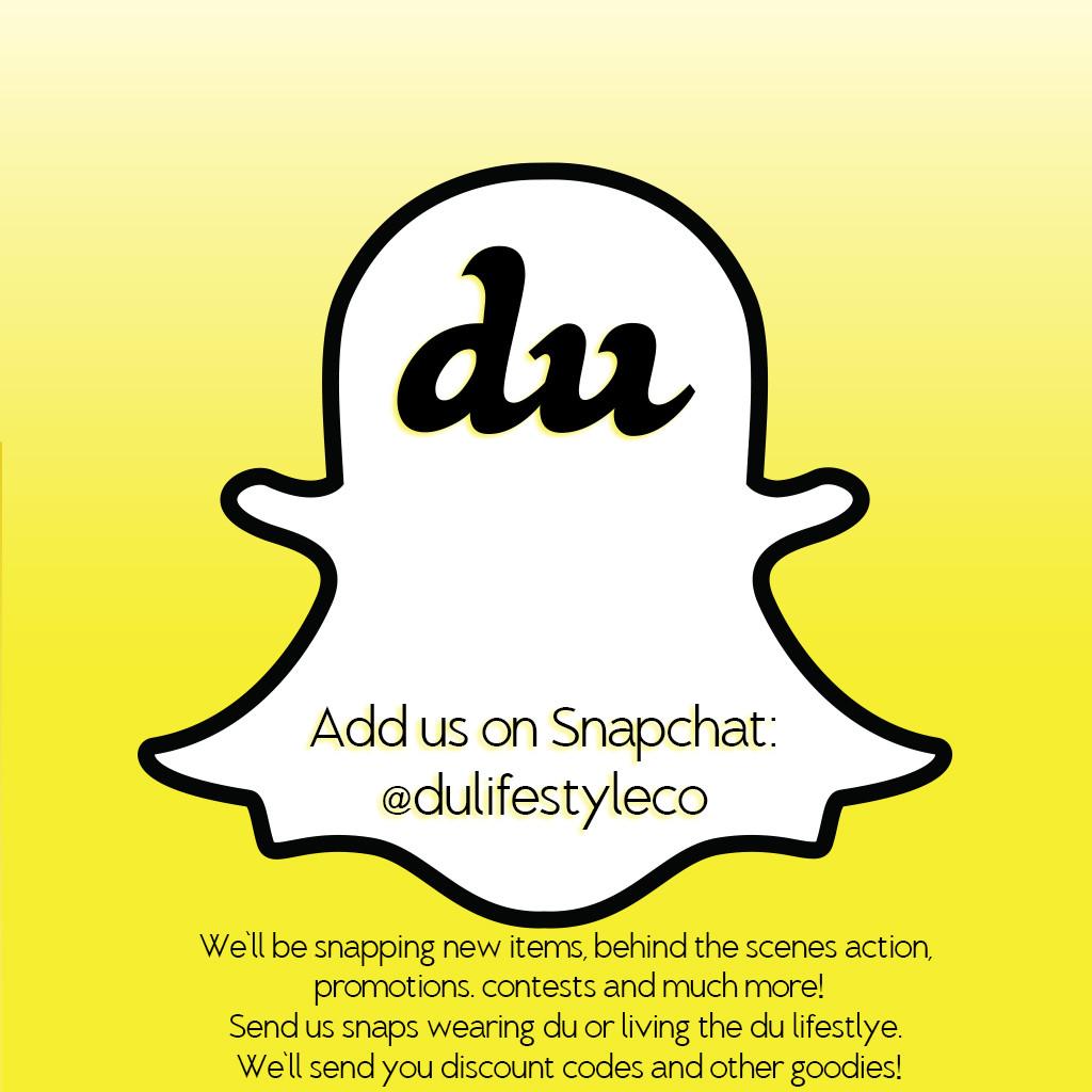 DU Snapchat