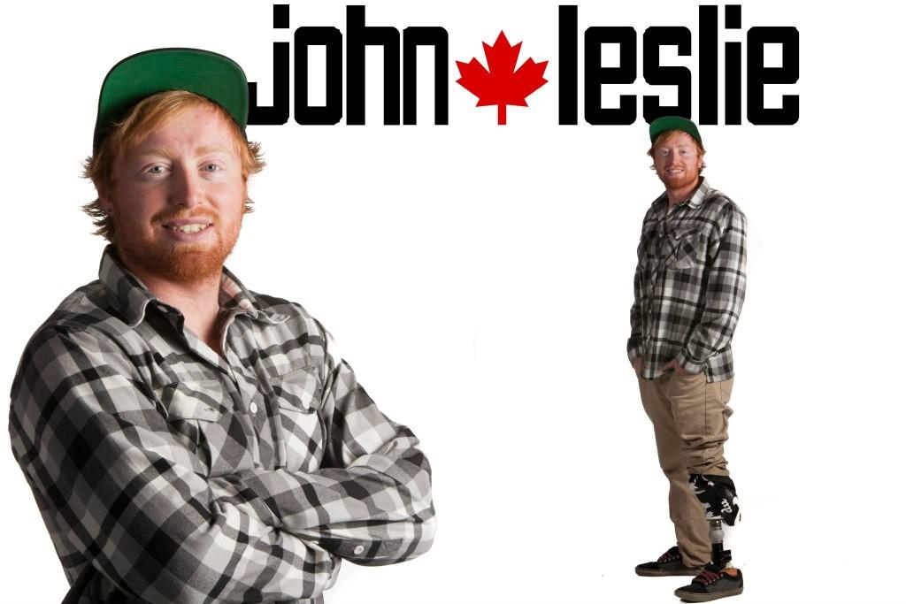I am John Leslie