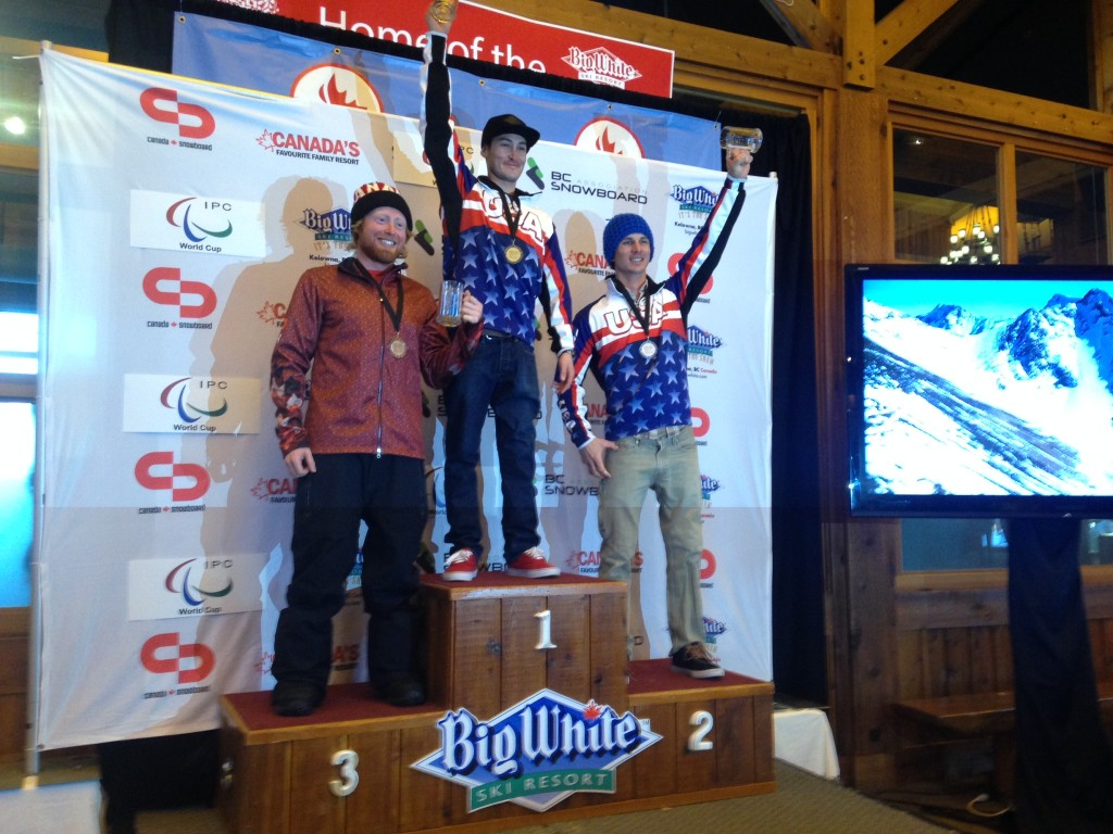 Another 3rd place podium at Big White, BC World Cup